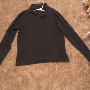 Claiborne Long sleeve Gray dress sweater